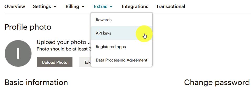 Модуль Интеграции MailChimp 5